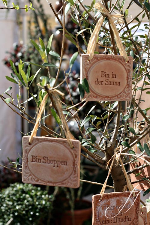 Ricomincia la stagione foto e fornelli for Cartellini per piante